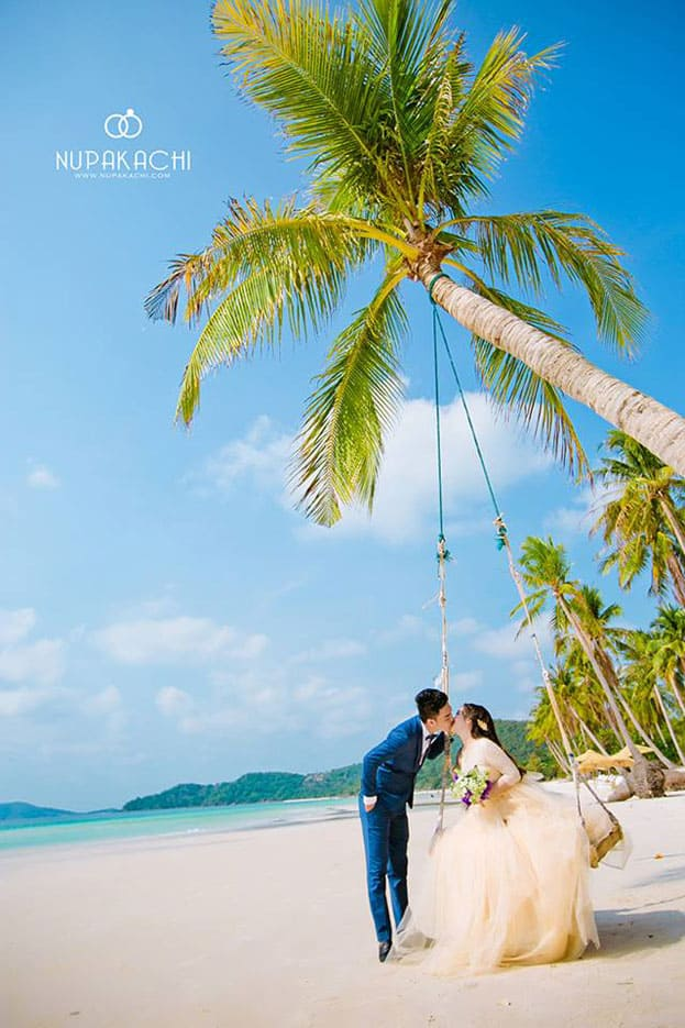 ảnh cưới 2017 biển phú quốc