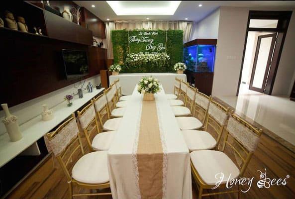 trang trí lễ đính hôn - lễ cưới đẹp