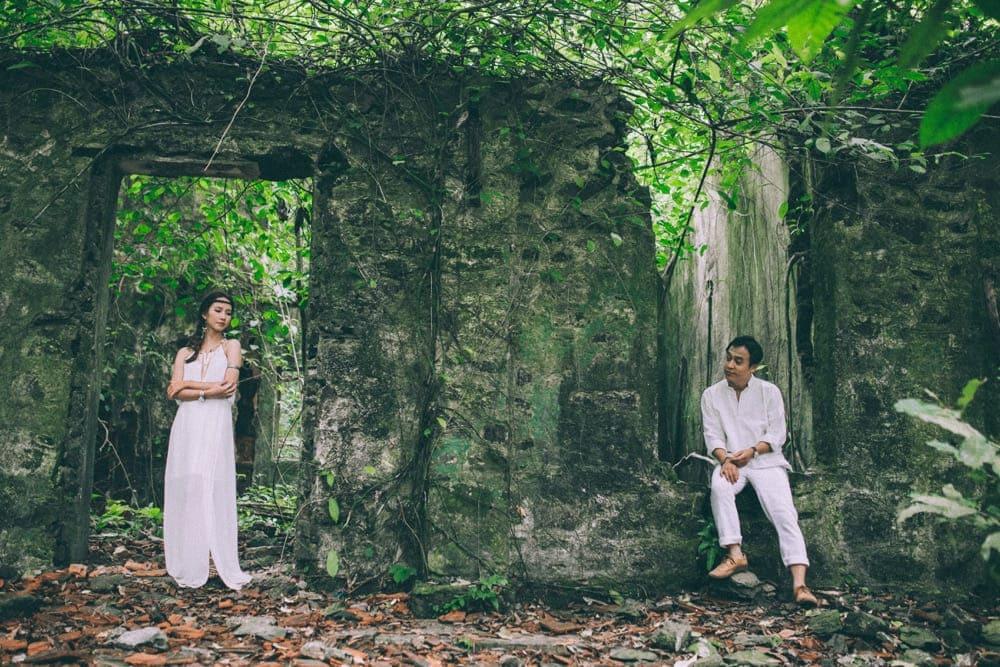 Ảnh cưới phong cách Bô-hê-miêng