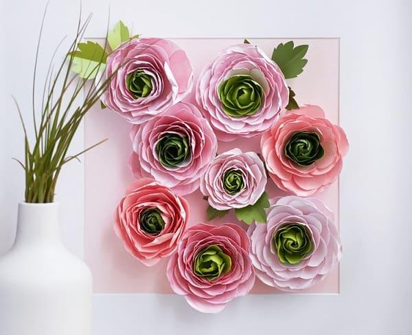 Backdrop hoa giấy 7
