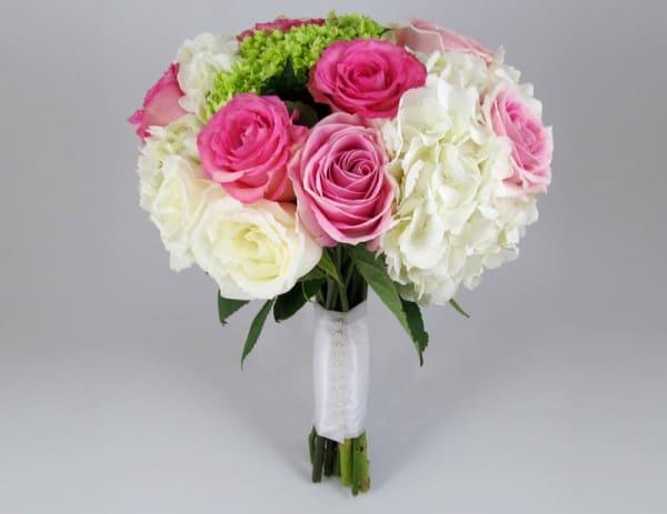 cách bó hoa cưới cẩm tú cầu 1