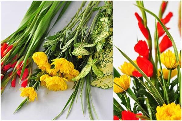 Cách cắm hoa ngày Tết 11