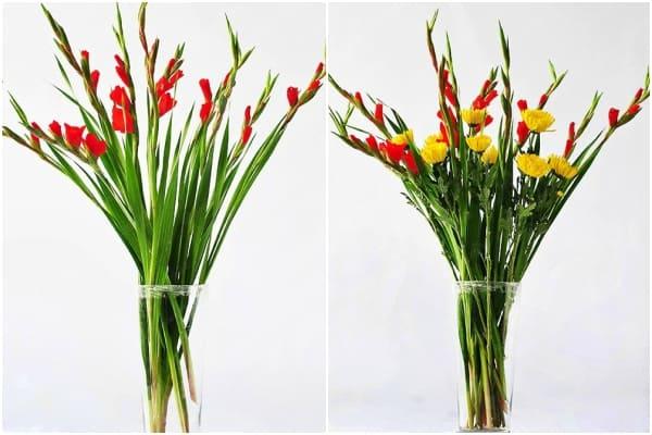 Cách cắm hoa ngày Tết 12