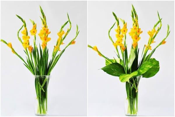 cách cắm hoa ngày Tết 7