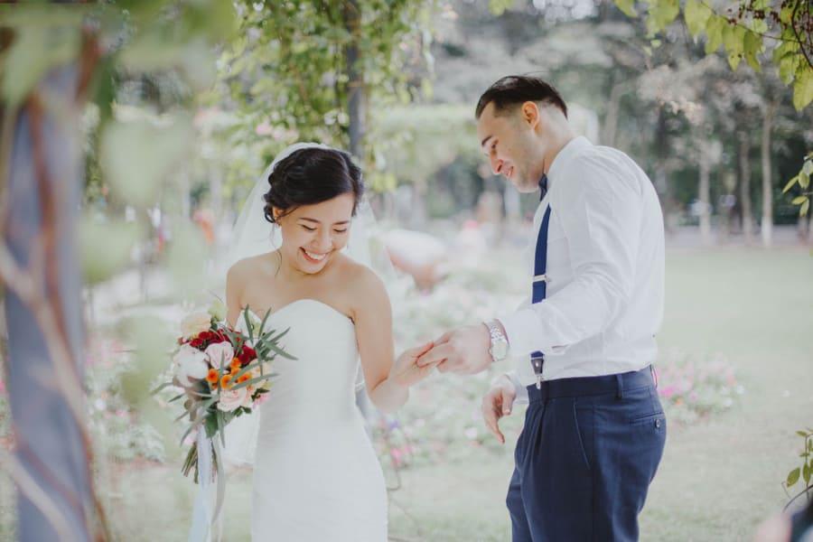 Bức ảnh pre wedding đẹp mà không cần diễn xuất