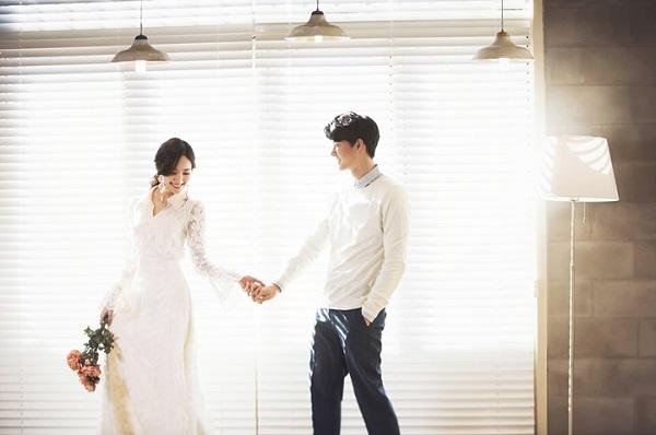 kiểu tóc cô dâu Hàn Quốc 5