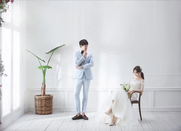 kiểu tóc cô dâu Hàn Quốc 7