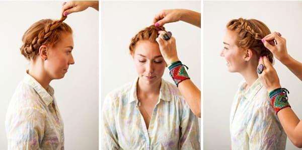tết tóc cô dâu hàn quốc 1