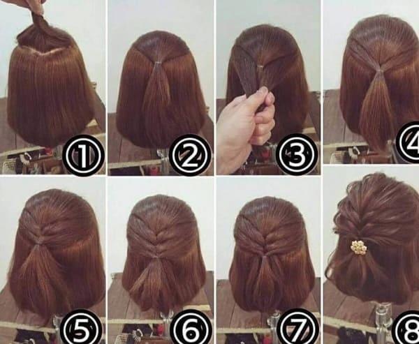 tết tóc cô dâu hàn quốc 3