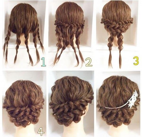 tết tóc cô dâu hàn quốc 7
