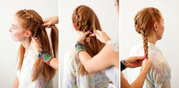 tết tóc cô dâu hàn quốc