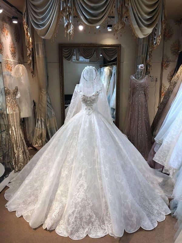 váy cưới của Vũ Ngọc Ánh 4