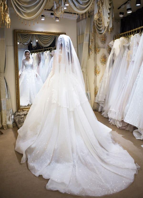 váy cưới của Vũ Ngọc Ánh 3