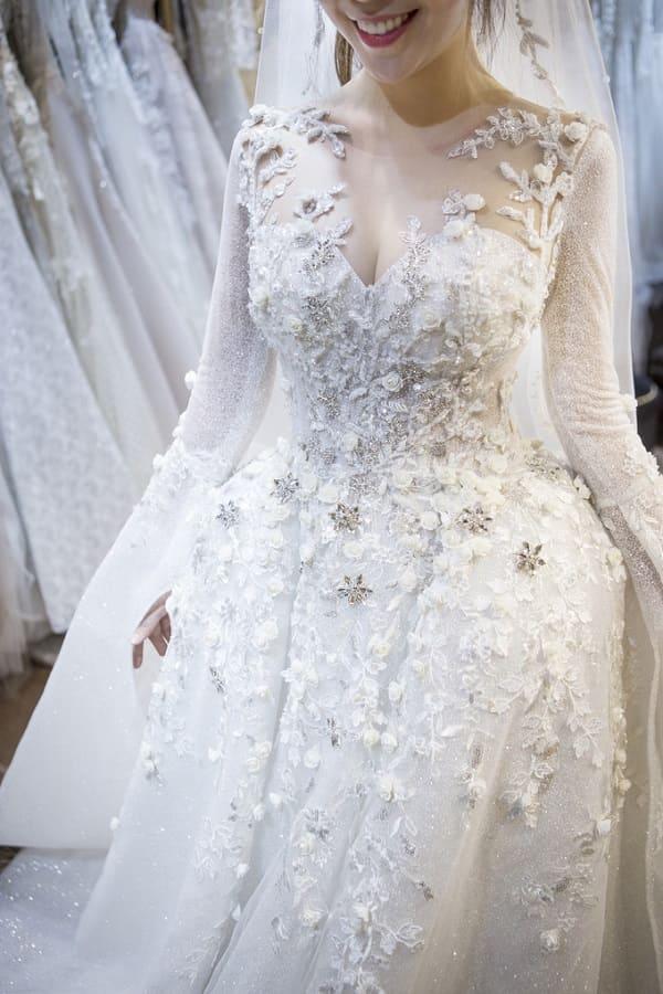 váy cưới của Vũ Ngọc Ánh 5