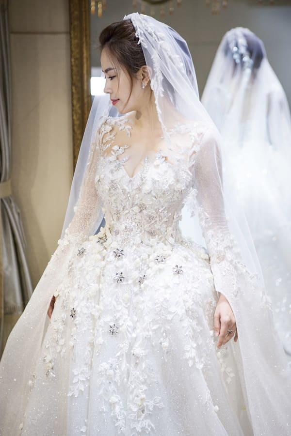 váy cưới của Vũ Ngọc Ánh 6