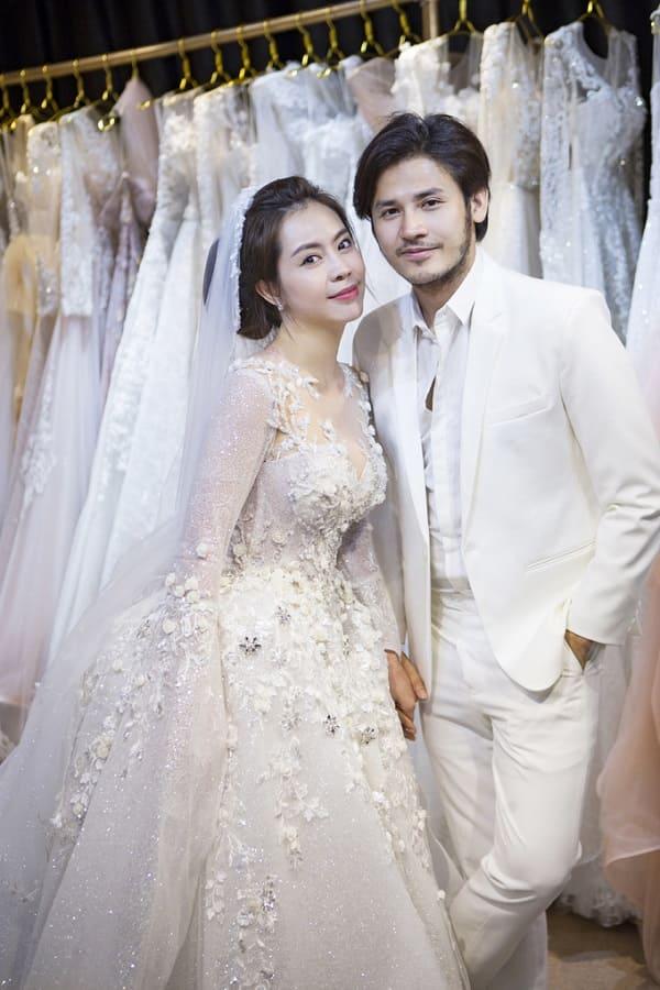 váy cưới của Vũ Ngọc Ánh 7