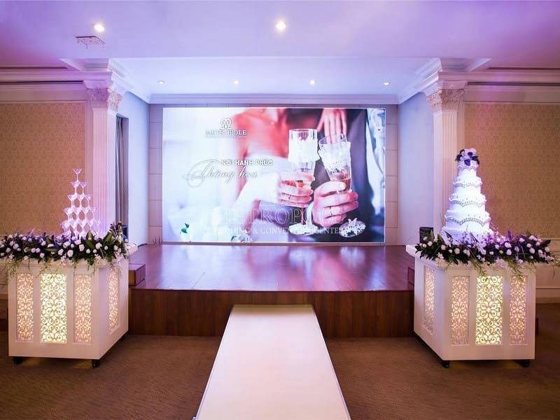 Tổ chức lễ cưới dịp cuối năm