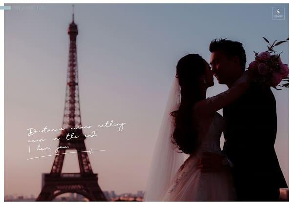 Chụp ảnh cưới nước ngoài