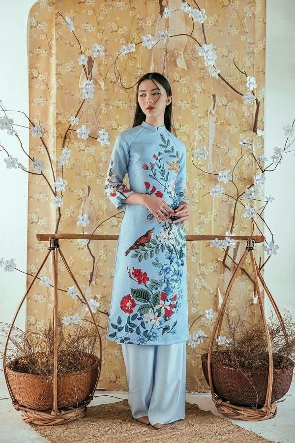 áo dài cưới đơn giản 10