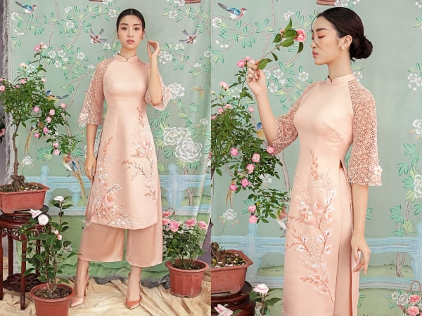 áo dài cưới đơn giản 11