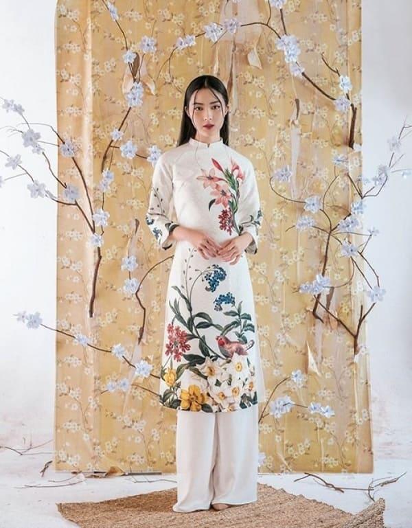 áo dài cưới đơn giản 9