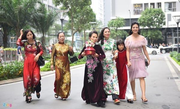 lễ rước dâu á hậu thanh tú 3