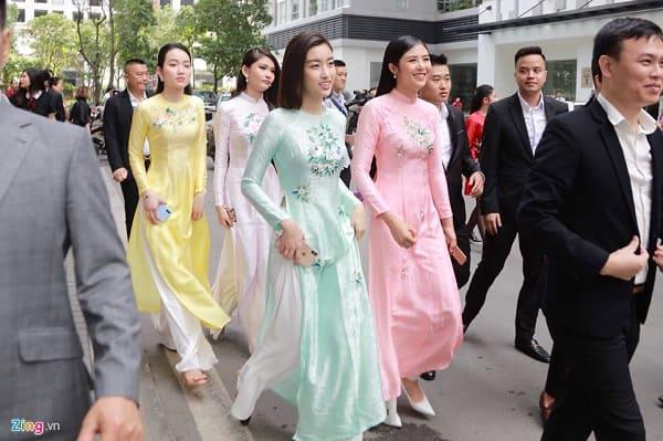 lễ rước dâu á hậu thanh tú 4