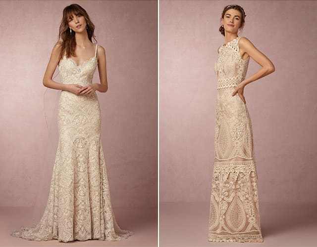 9 kiểu váy cưới phù hợp với đám cưới theo phong cách bãi biển