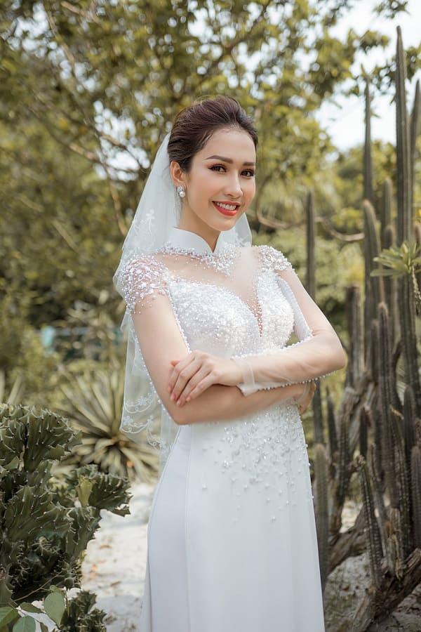 áo dài cưới màu trắng 17