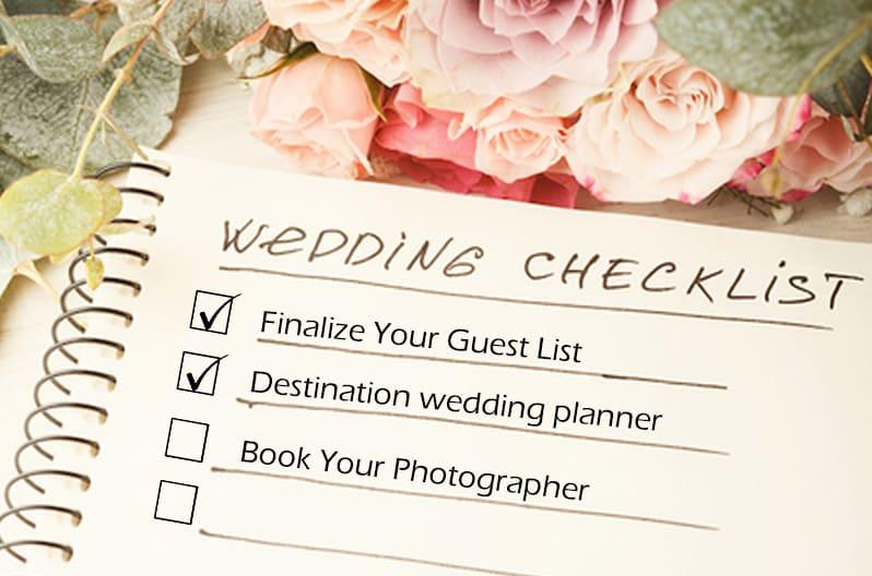 Giúp bạn lên kế hoạch cưới trong 5 tháng