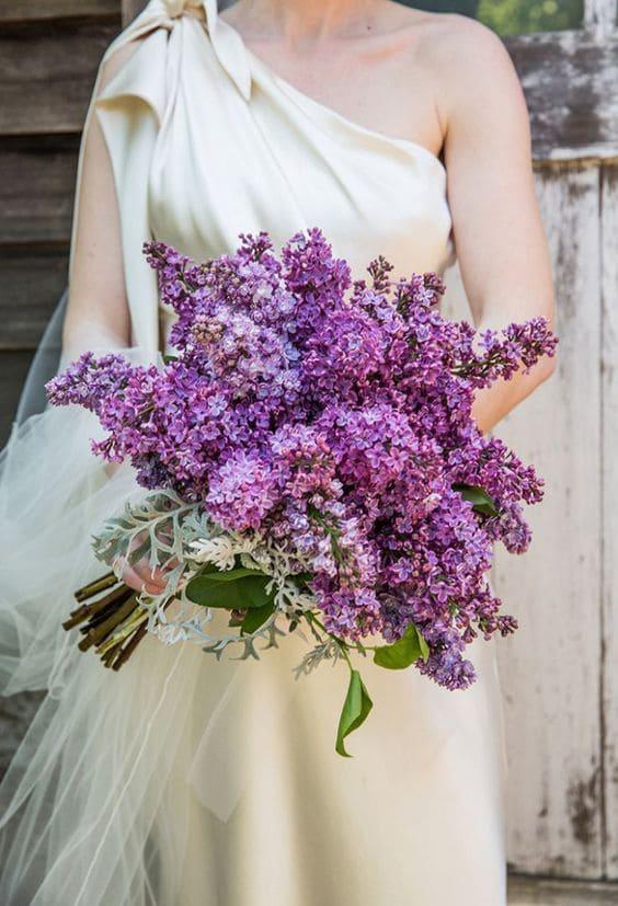Ý nghĩa của hoa cưới hoa tử đinh hương