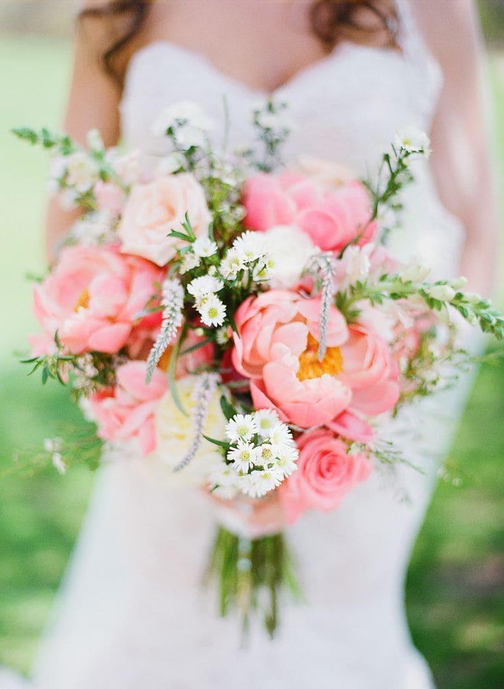 Ý nghĩa của hoa cưới hoa mẫu đơn