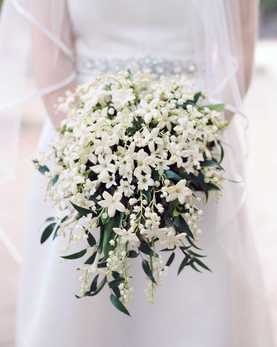 Ý nghĩa của hoa cưới hoa lài trâu