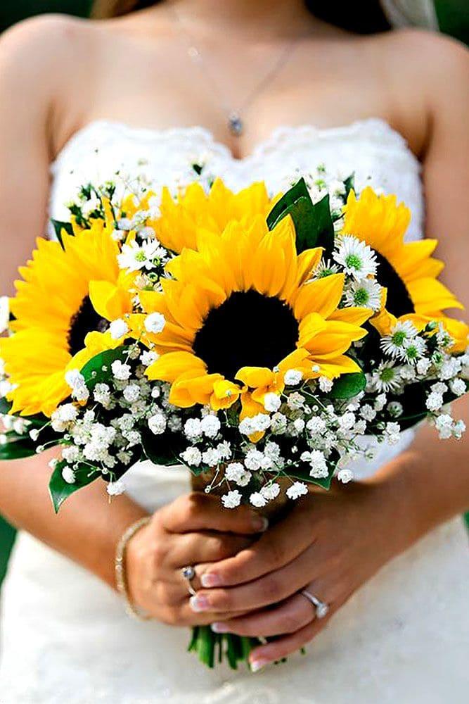 Ý nghĩa của hoa cưới hoa hướng dương