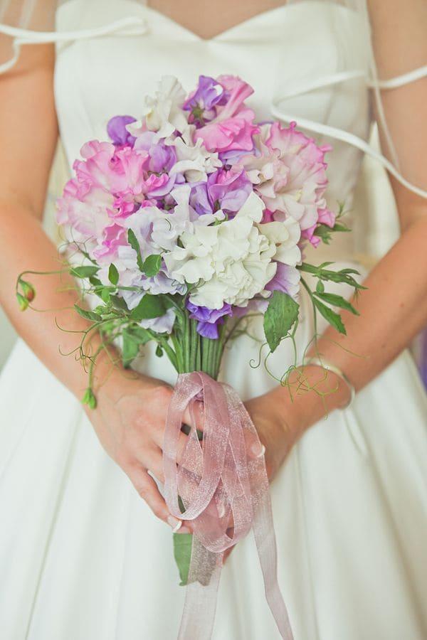 Ý nghĩa của hoa cưới hoa đậu thơm