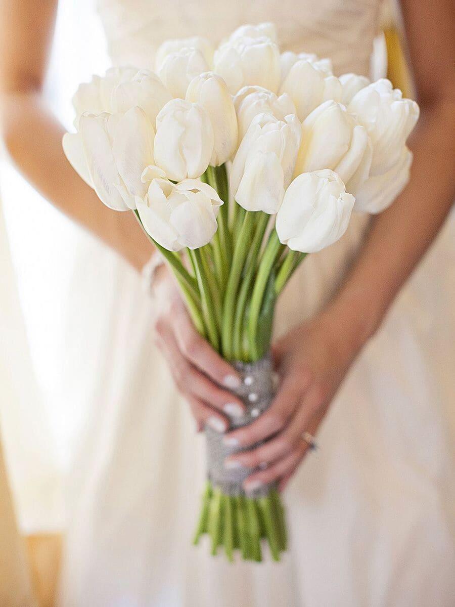 Ý nghĩa của hoa cưới hoa tulip