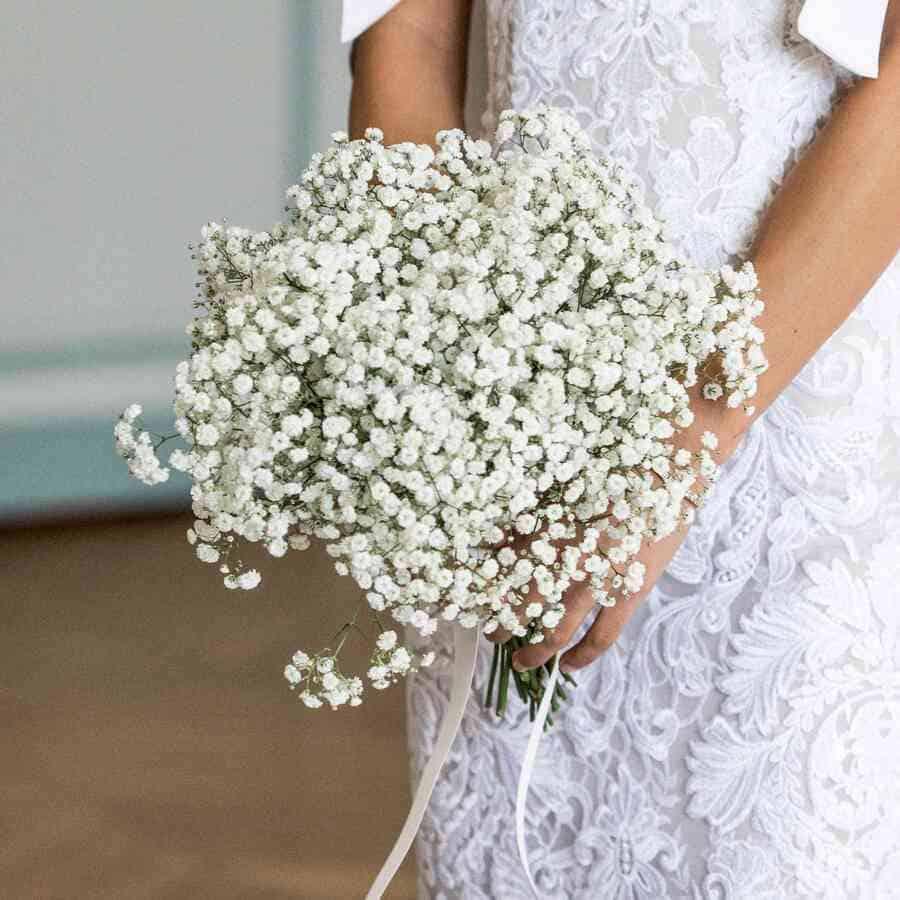 Ý nghĩa của hoa cưới hoa baby