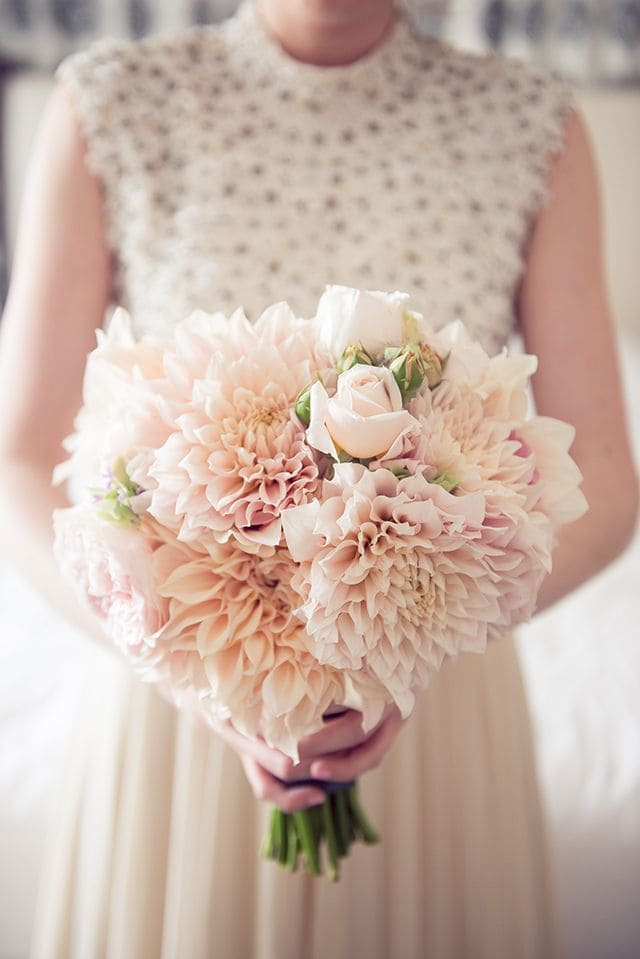 Ý nghĩa của hoa cưới hoa thược dược