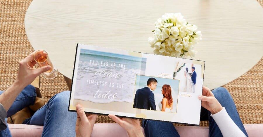 personalized wedding photo album wedding photo book