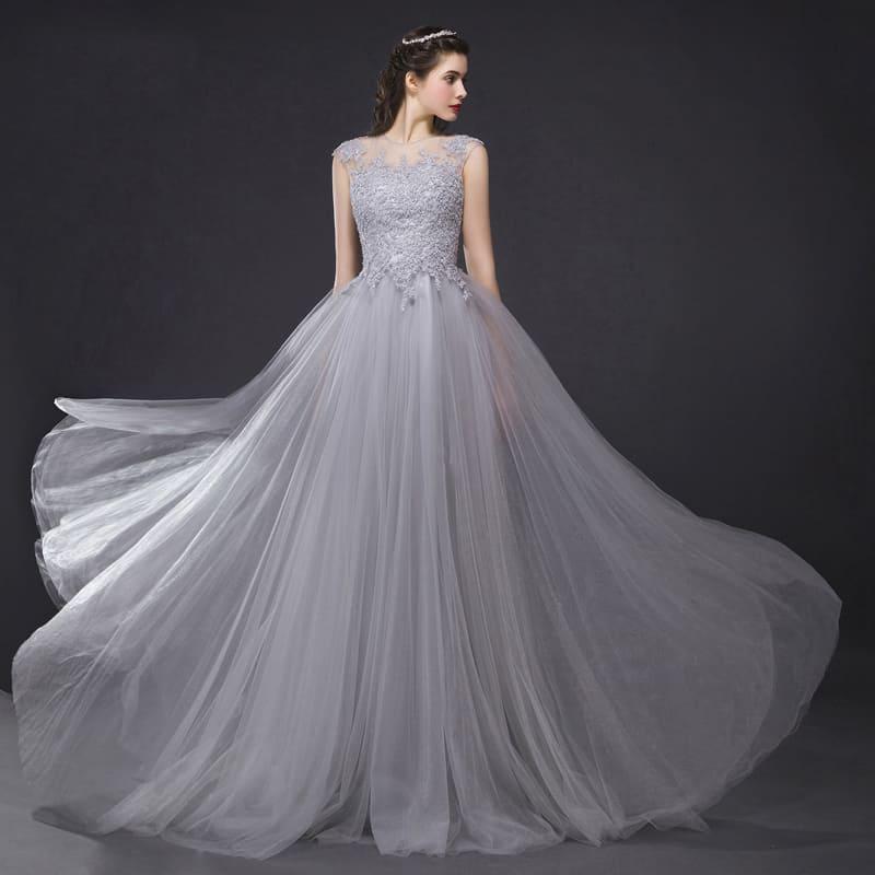 Những bộ áo cưới đơn giản mà đẹp cho cô dâu trong ngày trọng đại Mate.vn