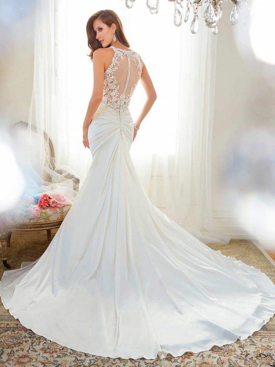 Đầm cưới đơn giản đuôi cá gợi cảm Mate.vn