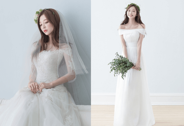 Đầm cưới trễ vai gợi cảm Mate.vn