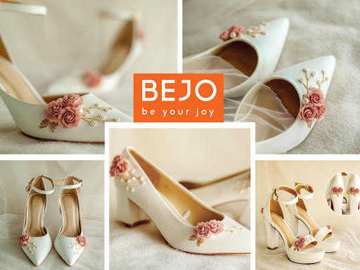 Vẻ đẹp ngọt ngào của giày cưới BEJO