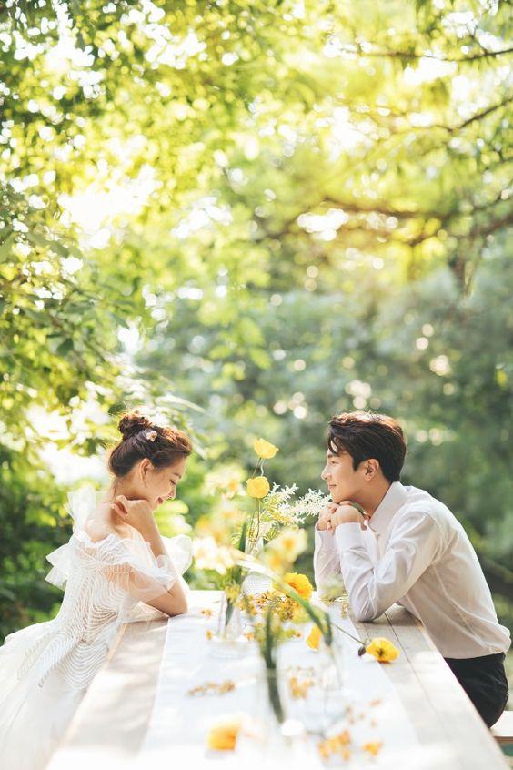 Phong cách chụp ảnh Hàn Quốc với khung cảnh ngoài trời Mate.vn