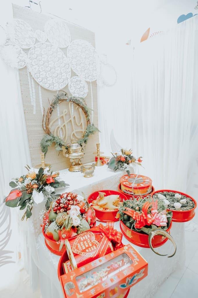 Mâm quả đám cưới
